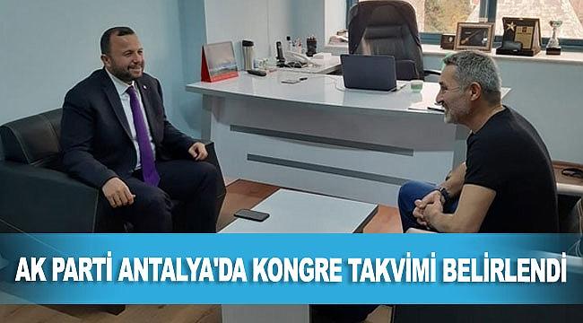 AK Parti Antalya'da kongre takvimi belirlendi, süreç başladı