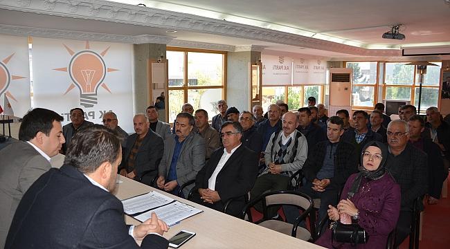 AK Parti'den mahalle başkanları toplantısı