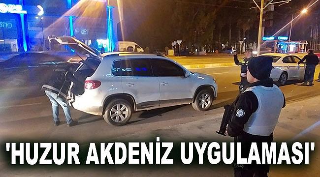 Antalya'da, 'Huzur Akdeniz Uygulaması'