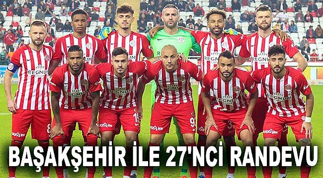 Antalyaspor, Başakşehir ile 27'nci randevusuna çıkıyor