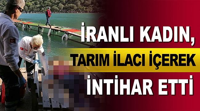 İranlı kadın, tarım ilacı içerek intihar etti