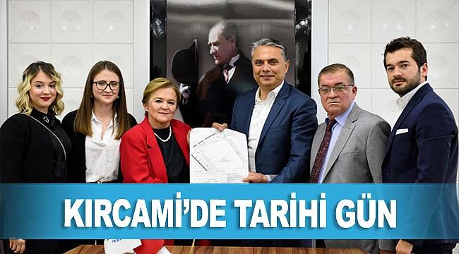 KIRCAMİ'DE TARİHİ GÜN