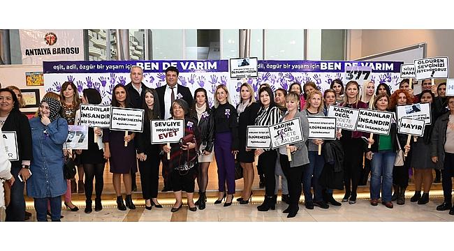 Konyaaltı'nda 'kadına yönelik şiddet' paneli