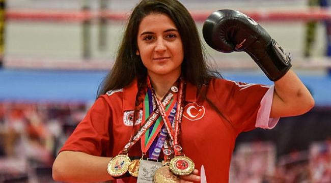 Şampiyon Ayşin'in hayali 'subay' olmak