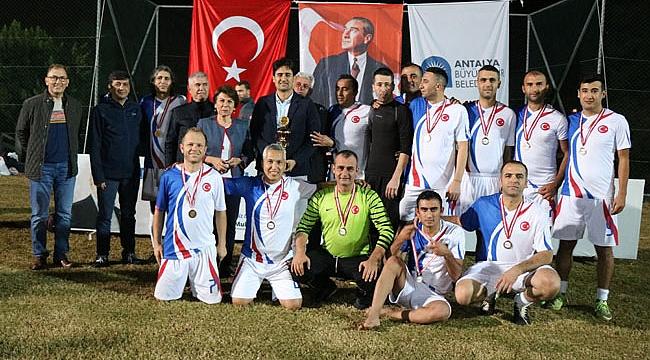 Şampiyon Koruma Şube Birimler arası futbol turnuvası