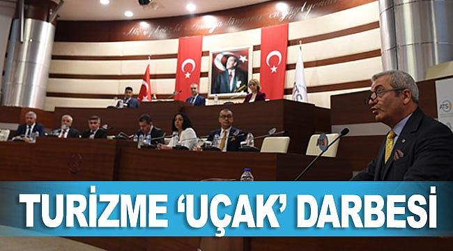 TURİZME 'UÇAK' DARBESİ