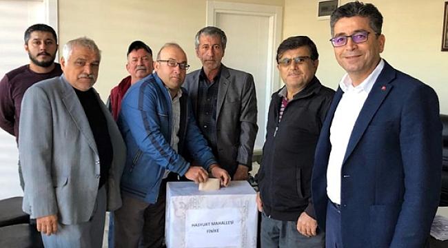 AK Parti Finike'de delege seçimleri