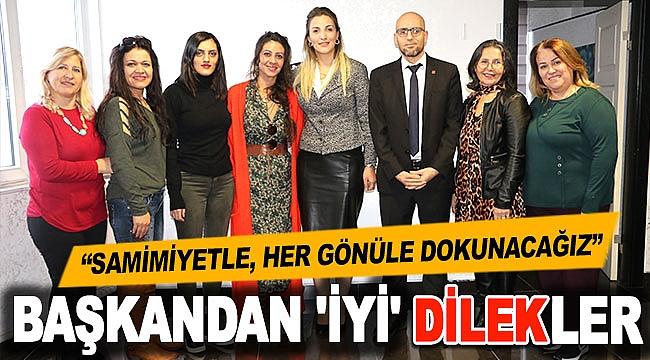 BAŞKANDAN 'İYİ' DİLEKLER