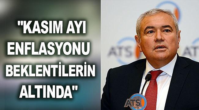 """""""KASIM AYI ENFLASYONU BEKLENTİLERİN ALTINDA"""""""