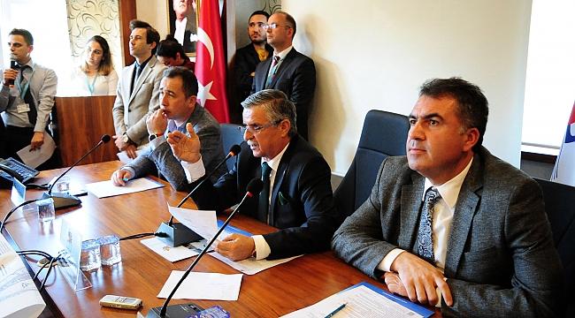 Kemer Belediyesi'nde aralık meclisi
