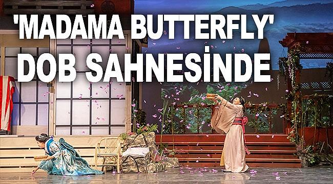 'Madama Butterfly' DOB sahnesinde
