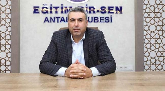 """""""MİLYONLARCA İNSANIN HAKKI GASBEDİLİYOR"""""""