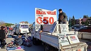 Pazarda satılık hazır mezar