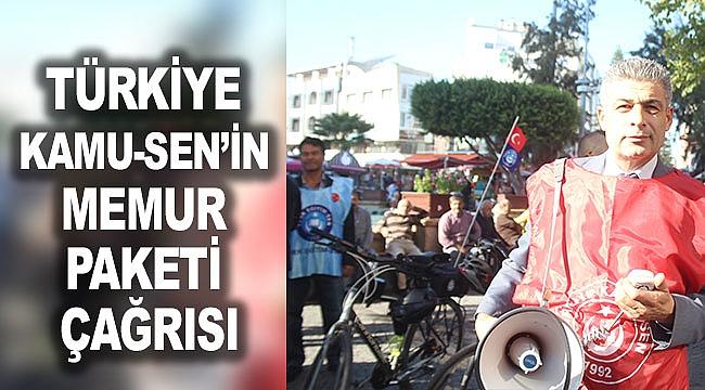 Türkiye Kamu-Sen'in memur paketi çağrısı