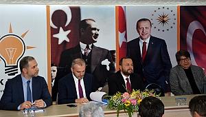 AK Parti'li Kandemir'in teşkilatlar buluşmaları