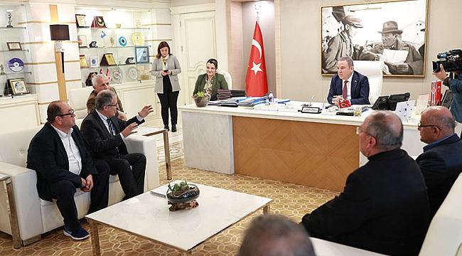 Akdeniz Sanayi'den Başkan Böcek'e ziyaret