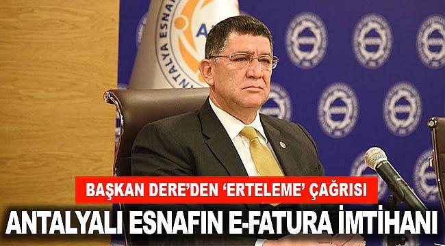 ANTALYALI ESNAFIN E-FATURA İMTİHANI
