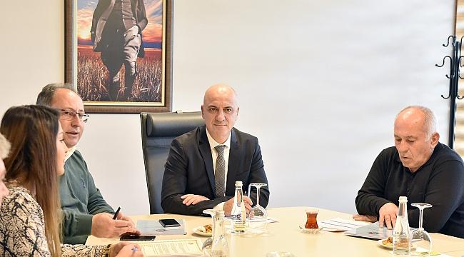 Başkan Bahar'dan '2020' toplantısı