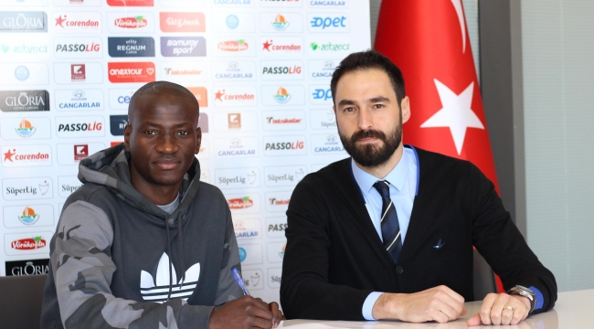 DelvinN'Dinga Antalyaspor'da