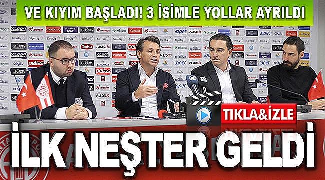İLK NEŞTER GELDİ