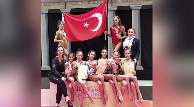 Muratpaşa'nın jimnastik gururu