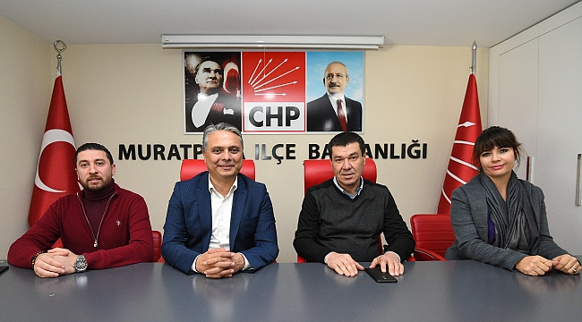 Ümit Uysal'dan CHP'ye ziyaret
