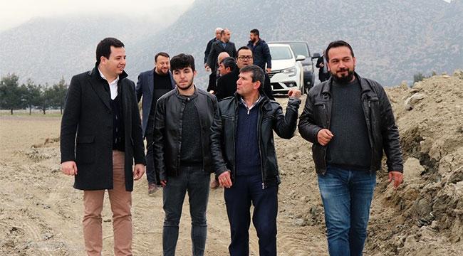 AK Parti heyeti ıslah çalışmalarını inceledi