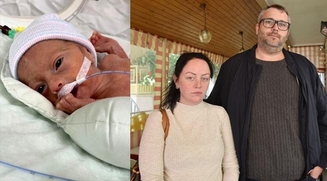 Alicia bebek yardım bekliyor