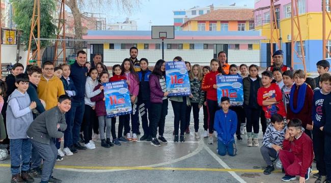 Antalya Valiliği'nden 112 farkındalık eğitimi