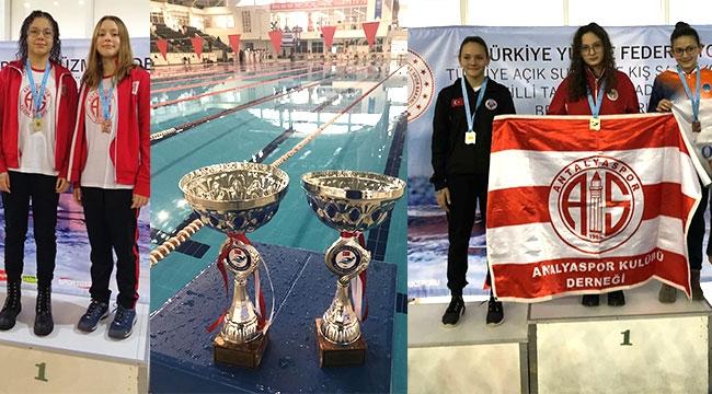Antalyalı yüzücüler milli takım kadrosunda