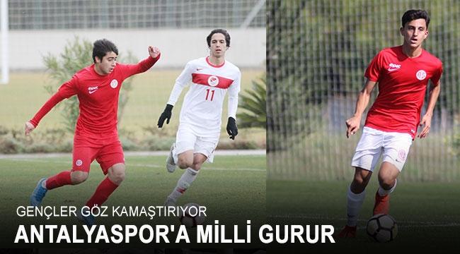 Antalyaspor'a milli gurur