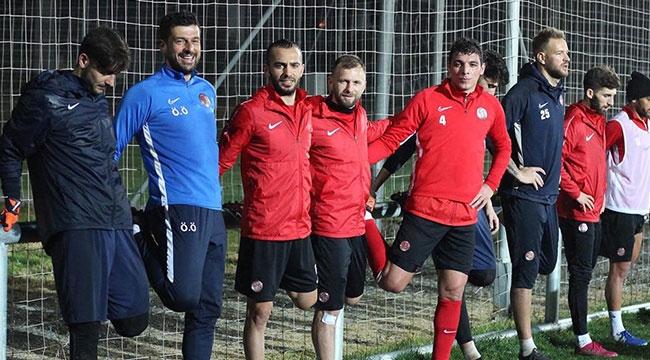 Antalyaspor'da Yiğido mesaisi