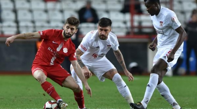 Antalyaspor - Sivasspor: 0-0