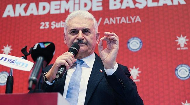 BİNALİ YILDIRIM'DAN 'DARBE' AÇIKLAMASI