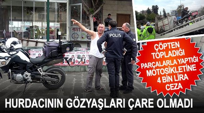 4 bin lira ceza, hurdacıyı isyan ettirdi