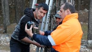 Kemer ormanlarına fotokapanlı koruma