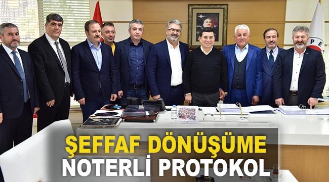 ŞEFFAF DÖNÜŞÜME NOTERLİ PROTOKOL