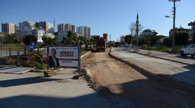 Alt yapı sonrası asfaltlama