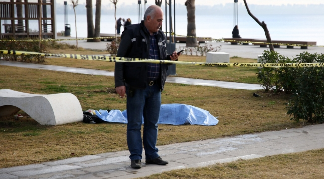 Yaşadığı parkta cansız bedeni bulundu