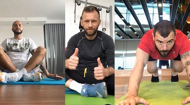 Antalyaspor'da yoga günü