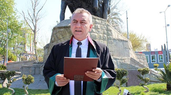 Antalya Barosu Başkanı, kalp krizi geçirdi