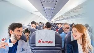 Corendonda 'ikili koltuk' hizmeti