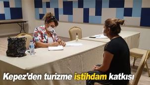 Kepez'den turizme istihdam katkısı