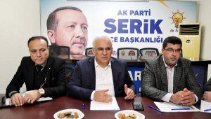 AK Parti Serik'te kongre heyecanı