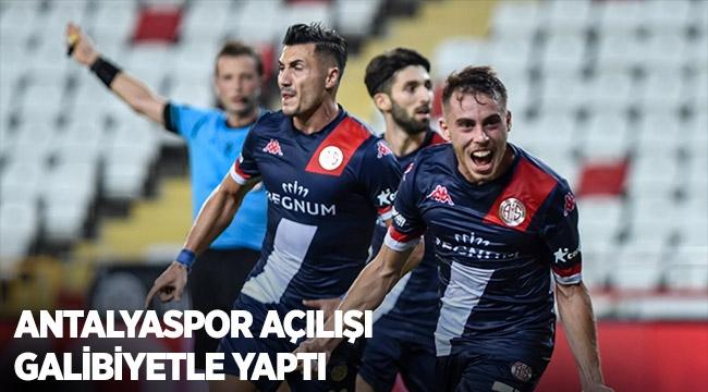 Antalyaspor açılışı galibiyetle yaptı