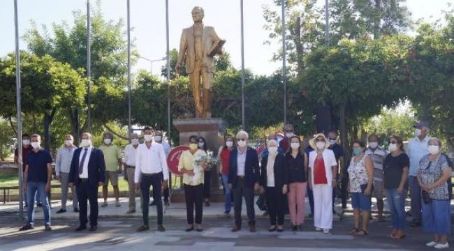 Finike'de CHP'nin kuruluş yıl dönümü kutlandı