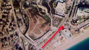 Konyaaltı Sahil Yolu'nda 2 günlük onarım