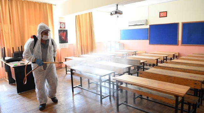Okullarda dezenfekte seferberliği