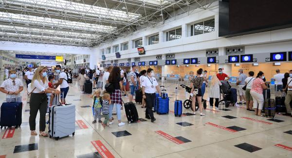 Eylülde gelen turist sayısı 1 milyonu aştı