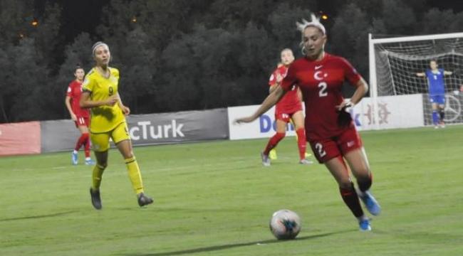 Kadın A milli futbol takımı, Kosova'yla golsüz berabere kaldı